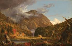"thomas cole and the decorative arts vqr online thomas cole a view of the mountain pass called the notch of the white mountains 1839 oil on canvas 40 3 16"" x 61 5 16"" courtesy of the national"