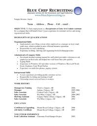 resume objective examples entry level make resume resume objective examples entry level 2017