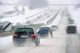 Image result for snow highway driving