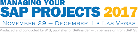 sapinsider managing your sap projects conference 2017 managing your sap projects 2017