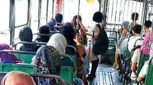 Image result for passengers inside a old PRC bus images