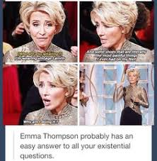 Emma. Nuff Said. on Pinterest | Emma Thompson, Tom Hanks and Love ... via Relatably.com