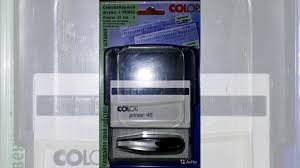 <b>Штамп самонаборный Colop Printer</b> 45-Set-F купить в Санкт ...