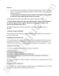 some exam multiple choice questions and answers for practice some exam 2 multiple choice questions and answers for practice psychology 321 kilianski at rutgers university new brunswick piscataway studyblue
