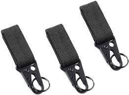 <b>Nylon</b> Carabiner Hook Keychain Clasp Belt <b>Outdoor Tactical</b> Travel ...