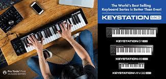 <b>M</b>-<b>Audio Keystation</b> MK3 – новое поколение ультрабюджетных ...
