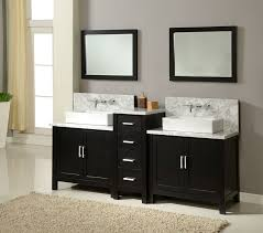 bathroom vanity 60 inch:  inch bathroom vanity double sink middot  quot double bathroom sink set wall mount faucets