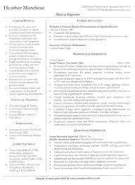 engineer resume example career profile system engineer resume sample