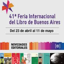 Resultado de imagen para Feria del libro buenos aires 2015