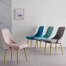 <b>Nordic</b> INS Dining Chair PU Fashion Creative <b>Modern Minimalist</b> ...