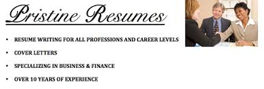 Pristine Resumes   Resume Writing Services by Certified Professional Resume Writers LinkedIn