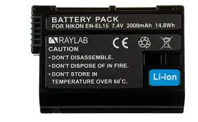 <b>Аккумулятор Raylab RL-ENEL15</b> 2000мАч | Купить с доставкой ...
