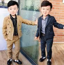 <b>Summer Brand Children</b> Flower Boys Suits Kids Blazer Formal ...