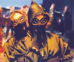 david victor vector  bourboulia domino robes and masks