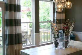 Dining Room Curtain Amazing Dining Room Curtain With Window Treatment Ideas Dining