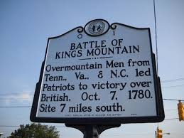 「battle of kings mountain memorial」の画像検索結果