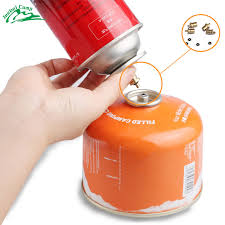 Gas <b>Refill</b> Adapter for <b>Outdoor Camping Stove</b> Gas Cylinder Gas ...