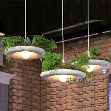 <b>LukLoy</b> Babylon Potted Plant Pendant Light Lamp Shade Modern ...