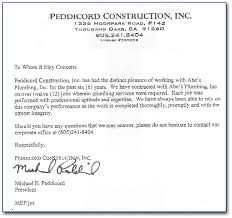 examples of a recommendation letter cover letter database examples of a recommendation letter