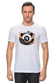 Футболка <b>классическая Printio Панда</b> (<b>Panda</b>) #1356960