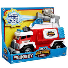 <b>Real Workin</b>' <b>Buddies</b> Mr. Hosey The Super Spray Fire Truck Vehicle ...