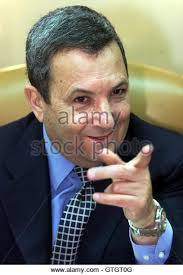 prime minister ehud barak speaks across the cabinet table to a minister during the government meeting cabinet gtgt