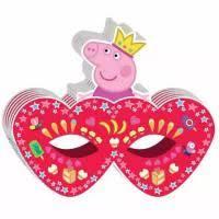Веселая затея Маска <b>Пеппа</b>-принцесса купить в интернет ...
