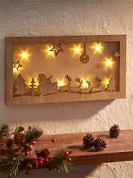 """<b>Настенное панно</b> со светодиодной <b>подсветкой</b> """"Рождественская ..."""