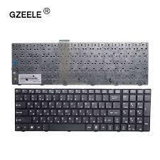 GZEELE <b>Russian Keyboard For MSI</b> A6200 CR620 CX705 S6000 ...
