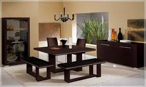 Square Kitchen Table With Bench Dark Wood Kitchen Table Full Image Kitchen Modern Wood Table L