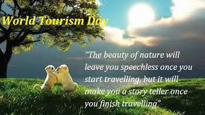 world tourism day slogans origin history importance date   day  world tourism day essay origin history importance date speech quotes slogans