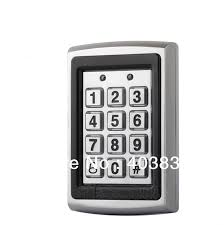 7612 <b>Metal Rfid Access Control</b> Keypad Support 1000 Users ...