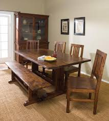 small dining bench: dining room a set of dining furniture in rustic and bench a hardware display cabinet with