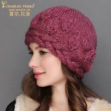 <b>Charles Perra</b> NEW Women Knitted <b>Hats</b> Winter Thicken Double ...