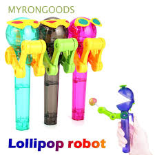 Funny Cute <b>Newest Creative Personality</b> Robot Lollipops Holder ...