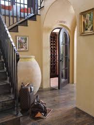 l awesome mediterranean wine cellar under half landing staircase 1120x1493 awesome wine cellar