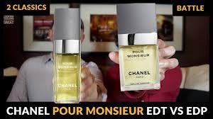 <b>Chanel Pour Monsieur</b> EDT vs Pour Monsieur EDP | Eau De Toilette ...