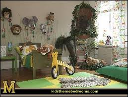 jungle safari boys room