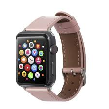 Insten <b>Genuine Leather Band</b> For Apple Watch 38mm 40mm All ...