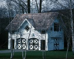Carriage House Home Design Ideas  Pictures  Remodel and DecorThis is an example of a traditional exterior in New York