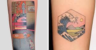 <b>Japanese</b> Style <b>Tattoos</b> Put Modern Twist on <b>Japanese</b> Woodblock ...