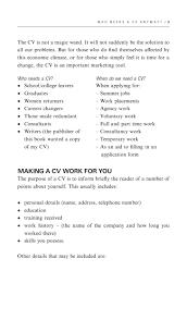 how to write a cv 14 who needs a cv