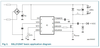 dimmer for led circuit diagram ssl2129at dimmer led driver ic