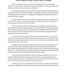 comparison contrast essay ideas ccstrategies cover letter compare and contrast essay outline format writing a compare contrast essay compareandcontrastexamplebasic