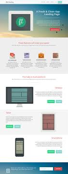 best internet marketing landing page templates the flat landing internet marketing page can be used for websites dealing in technological products it has features like