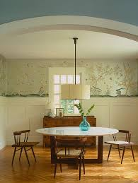 Dining Room Feature Wall 27 Splendid Wallpaper Decorating Ideas For The Dining Room