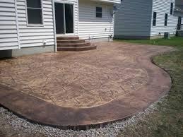 resurfacing concrete patio residence