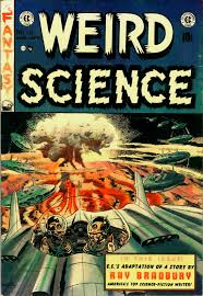 wally wood weird science fantasy weird science the origin of science fiction is fiction that is based in science i some years ago and probably still have an essay written by an academic and