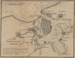 the spanish american war north carolina digital history map of havana 1882