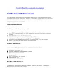 office manager responsibilities resume info office manager responsibilities resume example 1